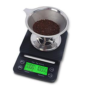povoljno Digitalne vage-3kg/0.1g Anti-Τριβή Više uzoraka Digitalna ljestvica kave Kuhinja dnevno