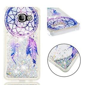 voordelige Galaxy A3(2016) Hoesjes / covers-hoesje Voor Samsung Galaxy A3(2016) Schokbestendig / Glitterglans Achterkant Dromenvanger / Glitterglans Zacht TPU