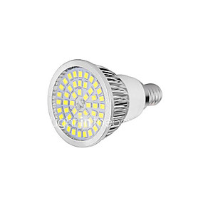 olcso LED & Világítás-YWXLIGHT® 1db 7 W LED szpotlámpák 720 lm E14 GU10 E26 / E27 48 LED gyöngyök SMD 2835 Meleg fehér Hideg fehér 85-265 V / 1 db. / RoHs