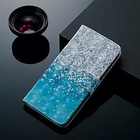 voordelige Galaxy S7 Hoesjes / covers-hoesje Voor Samsung Galaxy S9 / S9 Plus / S8 Plus Kaarthouder / met standaard / Flip Volledig hoesje Landschap Hard PU-nahka
