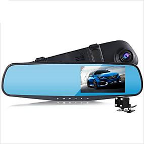 preiswerte Auto Elektronik-D790s 1080p Auto dvr 140 Grad Weiter Winkel 4.3 Zoll Autokamera mit G-Sensor / Parkmodus / Bewegungsmelder nein Auto-Recorder / Loop - Aufnahme / Auto On / Off / Eingebauter Mikrofon / Foto