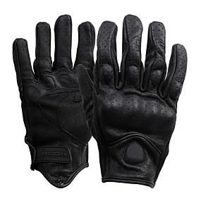 Χαμηλού Κόστους Γάντια Μοτοσυκλέτας-Ολόκληρο το Δάχτυλο Ανδρικά Γάντια Μοτοσυκλέτας Δερμάτινο Αναπνέει / Ανθεκτικό στη φθορά / Προστατευτικό