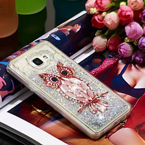 voordelige Galaxy A5(2016) Hoesjes / covers-hoesje Voor Samsung Galaxy A5(2016) Schokbestendig / Glitterglans Achterkant Uil / Glitterglans Zacht TPU
