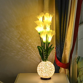رخيصةأون مصابيح ليد مبتكرة-1PC الصمام ليلة الخفيفة أبيض دافئ دس بالطاقة بديع 5 V