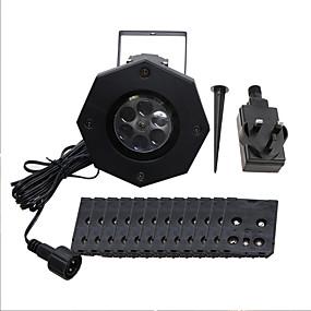 olcso Ajándék fények-YWXLIGHT® 1set 6 W LED projektorok Vízálló / Dekoratív 100-240 V Szabadtéri / Esküvői színhely díszítés / Nappali / ebédlő 6 LED gyöngyök