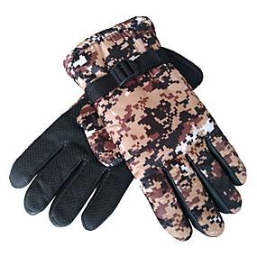 voordelige Motorhandschoenen-Lange Vinger Unisex Motorhandschoenen Doek / mikrokuituliina Ademend / Houd Warm / Slijtvast