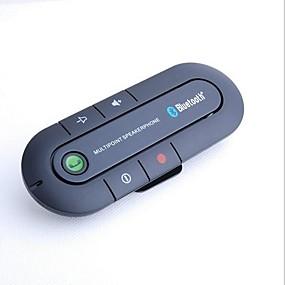voordelige Auto-elektronica-yuanyuanbenben bluetooth 4.1 handsfree systeem carkit geknipt op auto zonneklep, bluetooth carkit kan tegelijkertijd twee telefoons ondersteunen