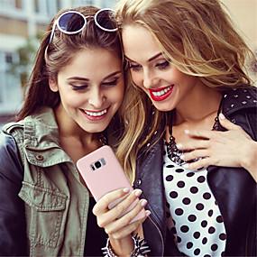 voordelige Galaxy S7 Edge Hoesjes / covers-hoesje Voor Samsung Galaxy S9 / S9 Plus / S8 Plus Mat Achterkant Effen Zacht silica Gel