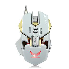 olcso Egér-ZERODATE G9 Vezetékes USB Gaming Mouse / Office Mouse LED fény 5500 dpi 7 Állítható DPI szint 12 pcs Kulcsok 7 programozható gomb