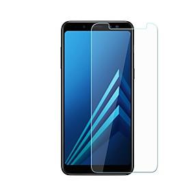 olcso Galalxy A Képernyővédő fóliák-Samsung GalaxyScreen ProtectorA8 2018 9H erősség Kijelzővédő fólia 1 db Edzett üveg