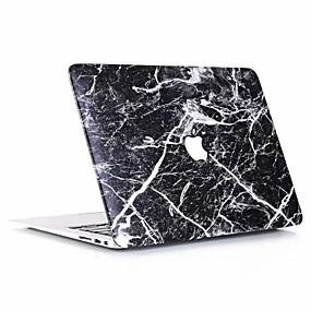 """economico Custodie per MacBook Pro 13""""-MacBook Custodia Effetto marmo PVC per Per Nuovo MacBook Pro 15'' / Per Nuovo MacBook Pro 13'' / New MacBook Air 13"""" 2018"""