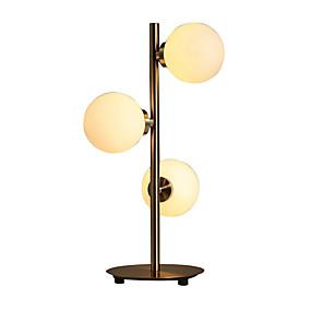 olcso Otthon & kert-kreatív asztal könnyű üveg lámpatest asztal könnyű fém asztali lámpa beltéri 60w