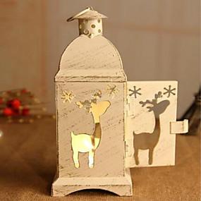 رخيصةأون Home Fragrances-الرياح رومانسية مصباح الحديد الديكور موس عيد الحب الإبداعية شمعدان عيد الميلاد