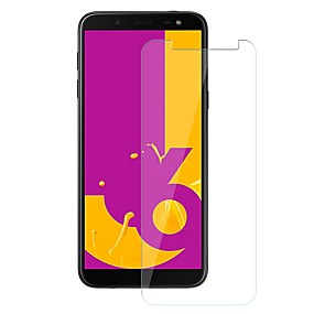 Недорогие Защитные пленки для Samsung-Samsung GalaxyScreen ProtectorJ6 Уровень защиты 9H Защитная пленка для экрана 1 ед. Закаленное стекло