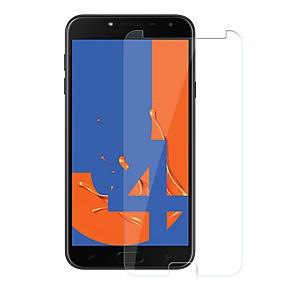 Недорогие Защитные пленки для Samsung-Samsung GalaxyScreen ProtectorJ4 Уровень защиты 9H Защитная пленка для экрана 1 ед. Закаленное стекло