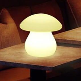 זול נורות לילה לד-1pc LED לילה אור לבן חם USB יצירתי <=36 V