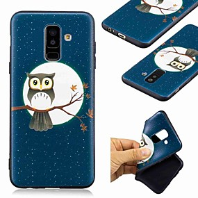 voordelige Galaxy A5(2016) Hoesjes / covers-hoesje Voor Samsung Galaxy A6 (2018) / A6+ (2018) / Galaxy A7(2018) Patroon Achterkant Uil Zacht TPU