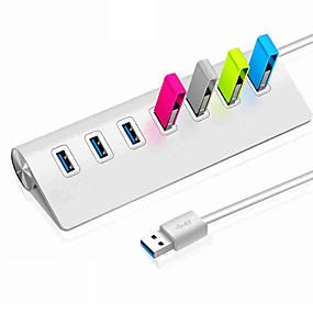 رخيصةأون موزعات شحن ومحولات يو اس بي-USB 3.0 to USB 3.0 أوسب هاب 7 الموانئ سرعة عالية