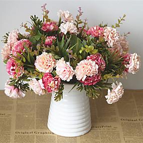 رخيصةأون أزهار اصطناعية-زهور اصطناعية 5 فرع كلاسيكي أوروبي النمط الرعوي أقحوان أزهار الطاولة
