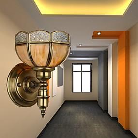 ieftine Abajure Perete-Model nou Modern contemporan Becuri de perete Interior Metal Lumina de perete 220-240V 5 W