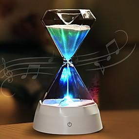 povoljno LED noćna rasvjeta-1pc vodio noćni sat satova s pjenom u boji kreativan / punjiv <= 36 V>