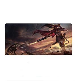 olcso Egérpad-HONGDAK Gaming pad 80*30*0.3 cm Gumi / Ruhaanyag Plus Sizes