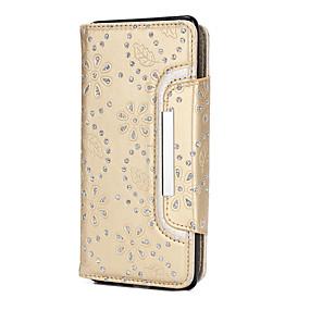 Недорогие Чехлы и кейсы для Galaxy Note 8-Кейс для Назначение SSamsung Galaxy Note 8 Стразы / С узором Чехол Геометрический рисунок Мягкий Кожа PU