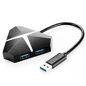 رخيصةأون موزعات شحن ومحولات يو اس بي-USB 3.0 to USB 3.0 أوسب هاب 4 الموانئ كوول