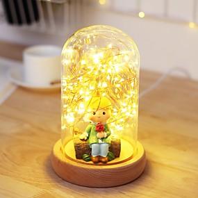 رخيصةأون مصابيح ليد مبتكرة-1PC الصمام ليلة الخفيفة أصفر دس بالطاقة <=36 V