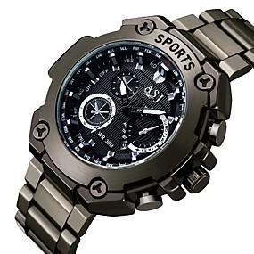 Недорогие Фирменные часы-ASJ Муж. Нарядные часы Японский кварц Классика Календарь Черный Аналоговый - Белый Красный Синий Один год Срок службы батареи / SSUO SR626SW + CR2025
