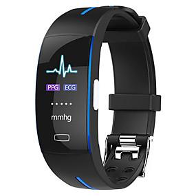 abordables Pulseras inteligentes-h66 plus pulsera inteligente bluetooth rastreador de ejercicios compatible con notificar / ecg + ppg / monitor de frecuencia cardíaca deportes reloj inteligente a prueba de agua compatible con teléfon