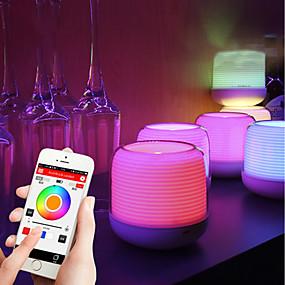 ieftine Lumini Nocturne LED-BRELONG® Lampă de noapte de masă Bluetooth / Control Voce / Decorațiuni USD 1 buc