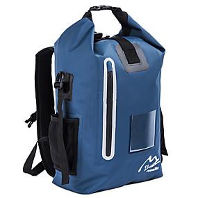 olcso Száraz táskák és dobozok-Yocolor 30 L Vízálló Dry Bag Floating Roll Top Sack Keeps Gear Dry mert Vízi sportok