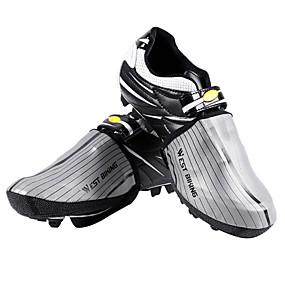 olcso Cipővédő-WEST BIKING® Felnőttek Waterproof Cipőhuzatok Szabadtéri gyakorlat Kerékpározás / Kerékpár Sötétszürke Szürke Uniszex Biciklis cipők