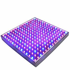 billige LED og belysning-1pc 225leds 15w led vokse lampe hydroponic 165red 60blue eu plugg for innendørs planter blomst grønnsak innendørs hage ac85-265v