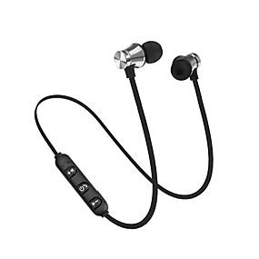 رخيصةأون سماعات الرياضة-LITBest X11 سماعة رأس حول الرقبة لاسلكي الرياضة واللياقة البدنية بلوتوث 4.2 مع ميكريفون مع التحكم في مستوى الصوت