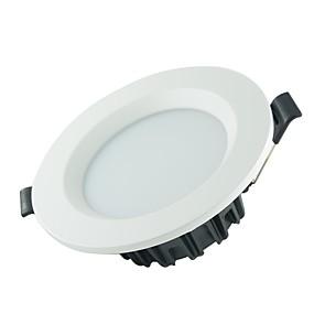 olcso Beépíthető-1db 5 W 250-300 lm 10 LED gyöngyök Könnyű beszerelni LED mélysugárzók Meleg fehér Természetes fehér Fehér 85-265 V Kereskedelmi Otthon / iroda Nappali / ebédlő