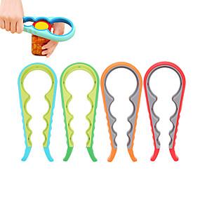 رخيصةأون أدوات & أجهزة المطبخ-غطاء فتاحة جرة 4 في 1 في متناول يدي برغي كاب الفتاحات جرة فتاحة علب متعددة الأغراض