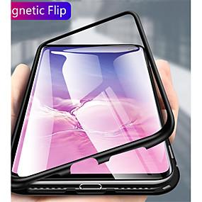 voordelige Galaxy S9 Plus Hoesjes / covers-hoesje Voor Samsung Galaxy S9 / S9 Plus / Galaxy S10 Transparant Volledig hoesje Effen Hard Metaal