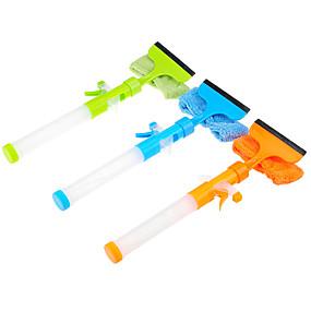 billige Håndholdte børster og vinduesskrabere-Køkken Rengørings midler Plast Nylon Rengøringsbørste og klud Værktøj Multifunktion 1pc