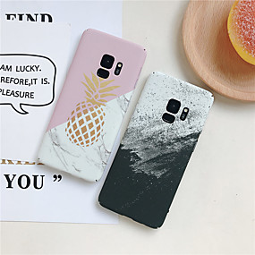 voordelige Galaxy S7 Hoesjes / covers-hoesje Voor Samsung Galaxy S9 / S9 Plus / S8 Plus Ultradun / Patroon Achterkant Effen / Fruit Hard PC