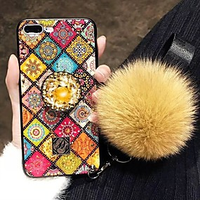 voordelige Huawei Honor hoesjes / covers-hoesje Voor Huawei Huawei P20 / Huawei P20 Pro / Huawei P20 lite Schokbestendig / Strass Achterkant Strass Hard TPU / P10 Plus / P10 Lite / P10 / Mate 9 Pro
