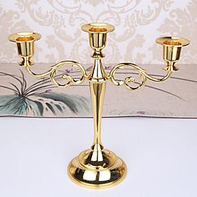olcso Home Fragrances-minimalista stílusú / Európai stílus Vas Gyertyatartók Gyertyatartó 1db, Gyertya / gyertyatartó