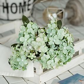 رخيصةأون أزهار اصطناعية-زهور اصطناعية 2 فرع كلاسيكي الزفاف Wedding Flowers أرطنسية الزهور الخالدة أزهار الطاولة