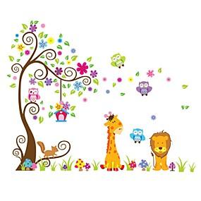 رخيصةأون ملصقات ديكور-لواصق حائط مزخرفة - لواصق حائط الطائرة حيوانات / أشكال داخلي / غرفة الأطفال