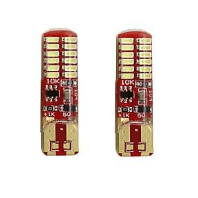 Недорогие Задние фонари-2pcs T10 / W5W Автомобиль Лампы 2 W SMD 3014 250 lm 24 Светодиодная лампа Подсветка для номерного знака / Лампа поворотного сигнала / Задний свет Назначение Универсальный Все года