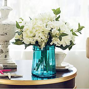 رخيصةأون أزهار اصطناعية-زهور اصطناعية 5 فرع كلاسيكي أوروبي أسلوب بسيط أرطنسية أزهار الطاولة