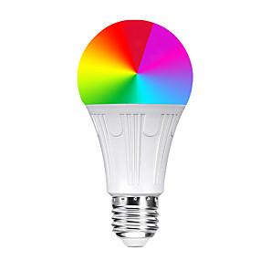 ieftine Becuri LED Glob-YWXLIGHT® 1 buc 11 W Bulb LED Glob Bulbi LED Inteligenți 800-900 lm E26 / E27 14 LED-uri de margele SMD 5730 Controlul APP Smart Sincronizare RGB 85-265 V / Intensitate Luminoasă Reglabilă