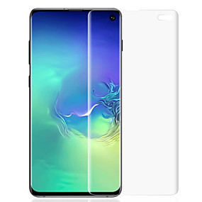 Недорогие Чехлы и кейсы для Galaxy S-Samsung GalaxyScreen ProtectorGalaxy S10 Plus HD Защитная пленка для экрана 1 ед. TPU