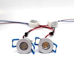 olcso LED projektorok-ONDENN 2pcs 3 W LED projektorok Kreatív / Tompítható / Új design Meleg fehér / Hideg fehér / Piros 220-240 V / 110-120 V Udvar / Kert 1 LED gyöngyök